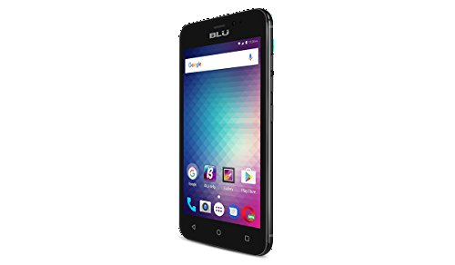 BLU Grand Mini Android Unlocked Cell Phone Smartphone Cell Phone 4.5'' Screen (Black) by BLU