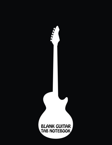 Guitar Tab Notebook : Large Print 8.5x11 - 104 Manuscript Paper With Chord boxes, Staff, TAB and Lyric - Blank Sheet Music - (Guitar Tab Books) Volume.3: Blank Sheet Music (Guitar Blank Sheet Music compare prices)