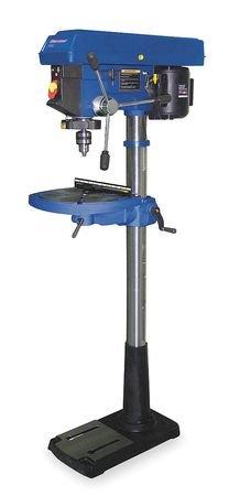 Westward 1KEN6 Floor Drill Press, 17 In, 1 HP, 115V, 12A by Westward