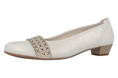 GABOR comfort - Damen Pumps - Silber Schuhe in Übergrößen