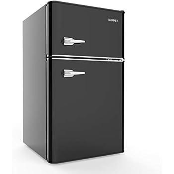 Amazon.com: Daewoo FR-044RCNC Retro Compact Refrigerator ...