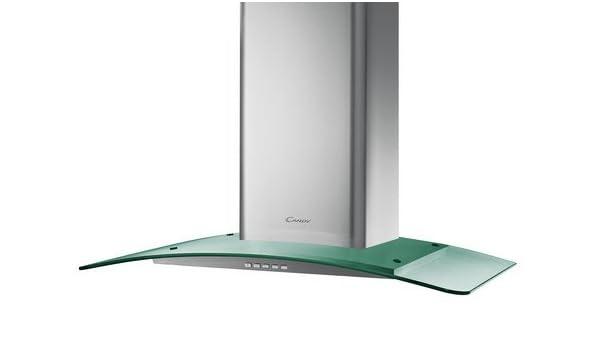 Candy CGM 91 X - Campana (Canalizado/Recirculación, 900 m³/h, Montado en pared, Acero inoxidable, Aluminio, 2 pieza(s)): Amazon.es: Hogar