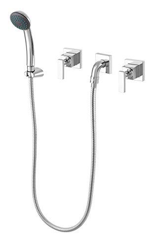 Misturador Higiênico Para Banheiro De Embutir Athena Slim Meber