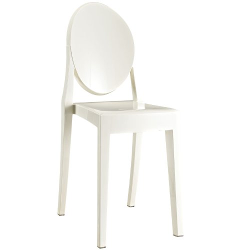 Amazon.com: LexMod Casper silla de comedor, Policarbonato ...
