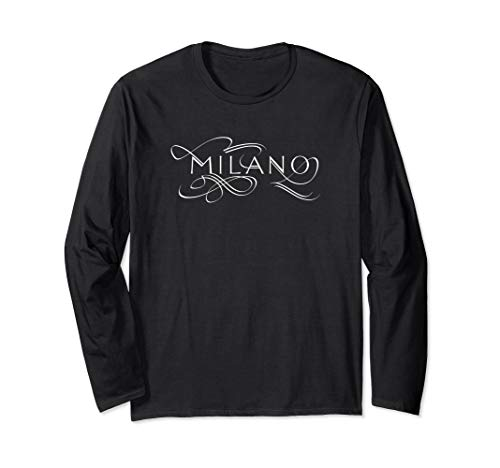 MILAN Italy Lover Travel Gift Fashion Long Sleeve Shirt