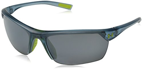 Under Armour Zone 2.0 8600050-177501 Sunglasses, Satin Crystal Gray, 65 - Sunglasses Zone