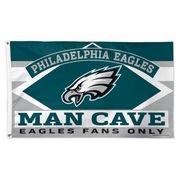 TheCreativeGene Philadelphia Eagles 3' X 5' Deluxe Polyester