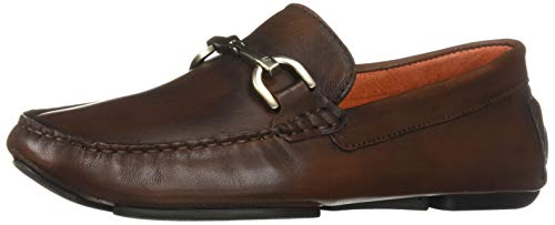 Donald J Pliner Men's Victor-GW Driving Style Loafer, Cognac 10.5 D US