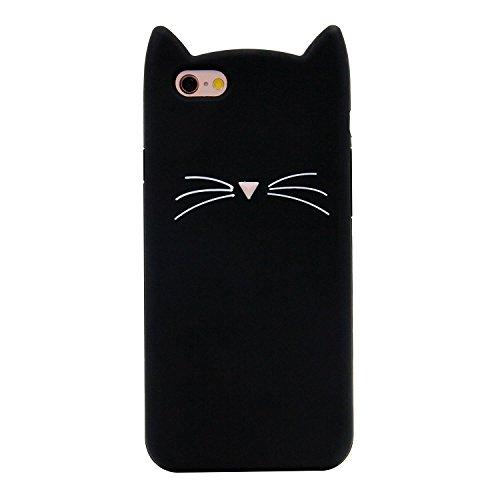 CHOCOCASE Slim Fit Black Cat Case for iPhone 6 / iPhone 6s 4.7