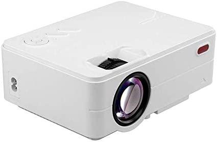 WOFEIYL Mini proyector 3D HD Micrófono Proyector DLP Home ...