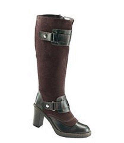 Bottes en cuir-marron-largeur de la tige : confortable - Marron - Marron, Taille 38 EU