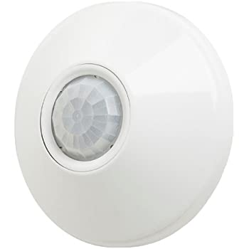 Sensor Switch CM 9 Contractor Select Standard Range Passive Infrared Ceiling Mount Occupancy Sensor White
