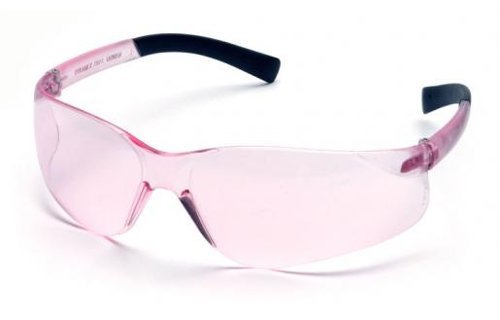 Pyramex Ztek Mini Womens Safety Glasses with Pink Lens by Pyramex Safety