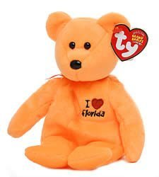 Image Unavailable. Image not available for. Color  TY Beanie Baby - FLORIDA  the Bear (I Love Florida - State Exclusive) by 5e9804e97697