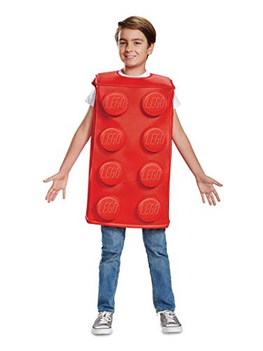 Best 5 Person Halloween Costumes (Disguise Red Brick Child Costume, Red,)