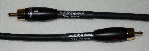 Audioquest 1M Pr Silver Extreme Audio cable w/RCA by Unknown