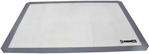 Homankit alfombrilla de silicona para horno, bandeja de horno para ...
