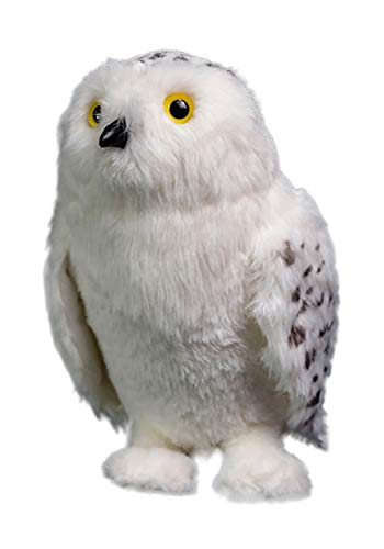 Quantum Mechanix QMXHP-0403 Harry Potter Hedwig Plush Standard, White