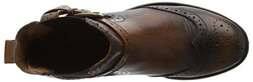 Chelsea Moda Calisi Donna Pelle Brown brown Stivali In qqSw71IU