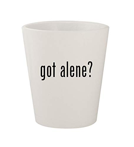 T300 Tower Air - got alene? - Ceramic White 1.5oz Shot Glass