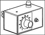 PAYNE ENGINEERING 36TBP-1-10 VARIABLE TRANSFORMER