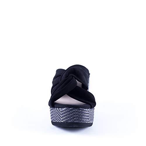 Kanna sandali Kanna Sabot Sabot Nero Donna HxvnzvYp5