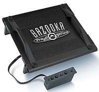 (Bazooka P250, 2 Channel Amplifier, Pro20 Series, 2 x 55 Watt, 4 Ohm)