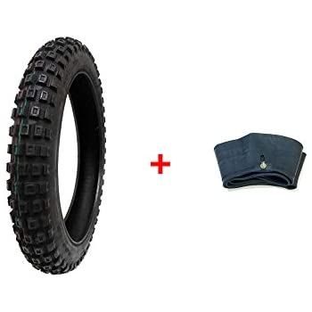 Compare Tire Sizes >> Mmg Combo Dirt Bike Tire Size 3 00 16 Includes Inner Tube Size 2 75 3 00 16 Tr4 Valve Stem