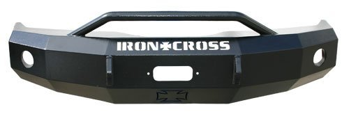 Cross Ford F150 Iron - Iron Cross Automotive 22-415-04 Heavy Duty Front Bumper with Push Bar for Ford F-150