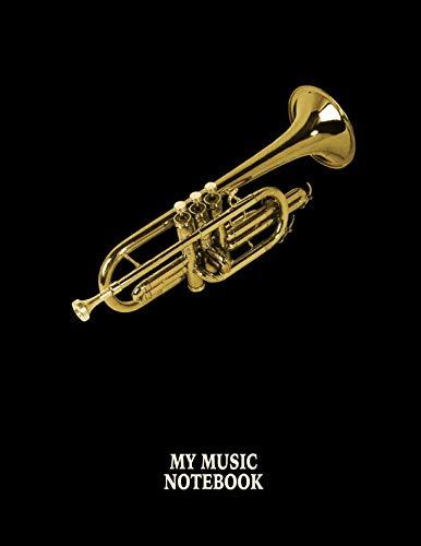 Bass Pop Trumpet - My Music Notebook. Blank Manuscript Paper Staff Paper Journal.