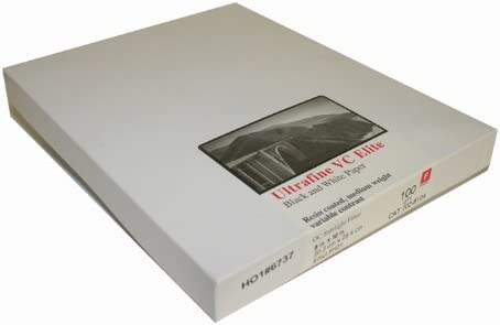 Ultrafine VC Elite Glossy Variable Contrast RC Paper 8 x 10//100