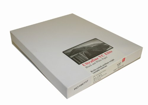 Ultrafine VC ELITE Glossy Variable Contrast RC Paper 8 x 10 / 100 by Ultrafine