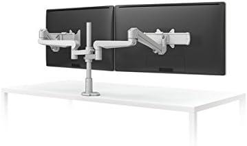 Evolve Series Dual Monitor Arm, 2 Motion Limbs, 2 Fixed Limbs, 2 Sliders, Black ESI Ergo EVOLVE2-FMS-BLK 1 Monitor Arm