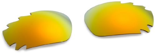 Oakley Racing Jacket Replacement Lens Fire Irid Vented, One - Sunglasses Oakley Jacket Racing