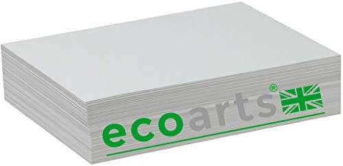 Photo Album Eco-Arts Black Wooden hardback Cover Recycled in Black and White Card Sketchbook A3 60 Pages 220 GSM Scrapbook Memory Book A4 and A5 in Portrait or Landscape.