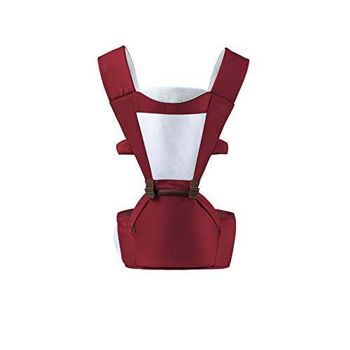 FCH Multifunctional Baby Carrier All Season Baby Sling Stay Away from O-Legs Triangle Labor Saving Comfortable and Breathable 2-in-1 Adjustable Baby Carriers Suitable for 0-18kg Baby ()