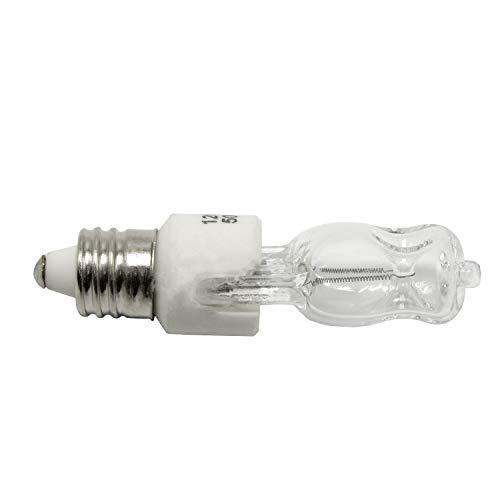 10-Pack of 120V 50W Halogen Replacement Bulb, E11 Base, 120V 50W, Mini Candelabra, 10XE11-120V-50W by eTopLighting (Image #2)