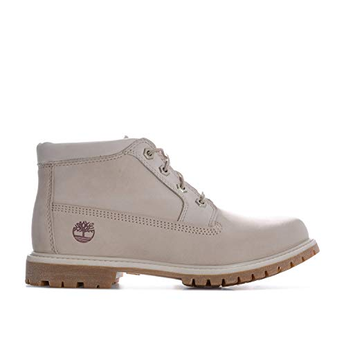 Timberland Women's Nellie Chukka Double Boots US11 Cream