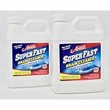 Professor Amos' SuperFast 2-Pack -32oz Drain Cleaner & Drain Opener Liquid, 8-12 Drain Treatments, Dissolve Hair…