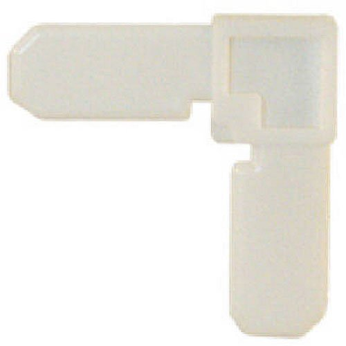 Prime-Line Products PL 7726 Screen Frame Corner, 7/16-Inch by 3/4-Inch, White Plastic,(Pack of (Corner Frame)