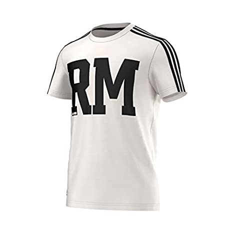 adidas Camiseta Real Madrid Co Pes Blanco-Negro Talla S ...