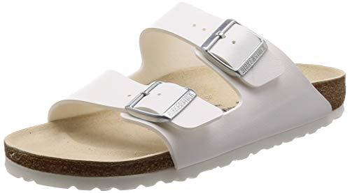 Birkenstock Men´s Arizona White synthetic Sandals 40 (Stretta) N -