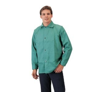 "Tillman 6230-M Lightweight 30"" GREEN Jacket Flame Retardant Cotton - MEDIUM"