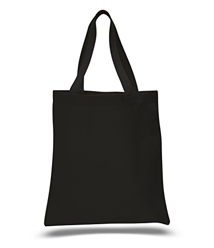 Promotional Priced Heavy Cotton Canvas Shopping Blank Tote Bag Art ()