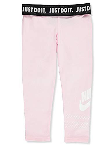(NIKE Children's Apparel Girls' Toddler Sportswear Graphic Leggings, Pink Foam 2T)