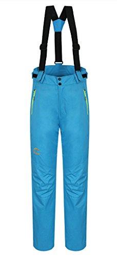 HengJia Women's Waterproof Mountain Hiking Fleece Windproof Skiing Pants