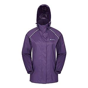 Ladies Women/'s Firetrap Rain Jacket Hooded Water Resistant Pink Autumn RRP£59