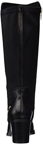XTI Bota Sra. C. Combinado Negro, Zapatos de Tacón con Punta Cerrada para Mujer Negro (Negro 46225)