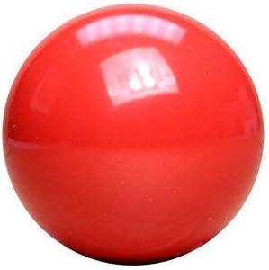 Bola de billar roja 5,8 cm.: Amazon.es: Deportes y aire libre