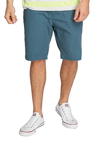 Petrol Industries Pantalones Cortos para Hombre Turquesa